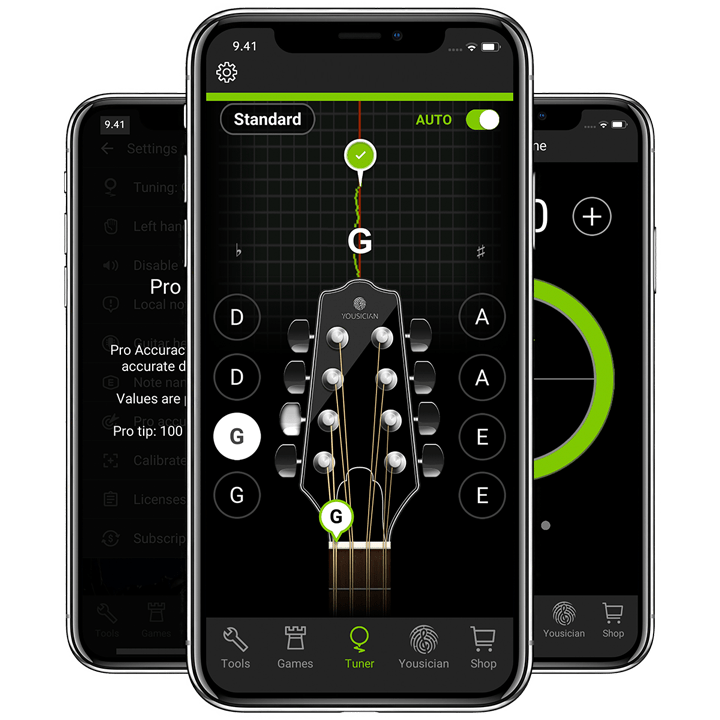 GuitarTuna Screenshot - the most downloaded tuning app in the world.