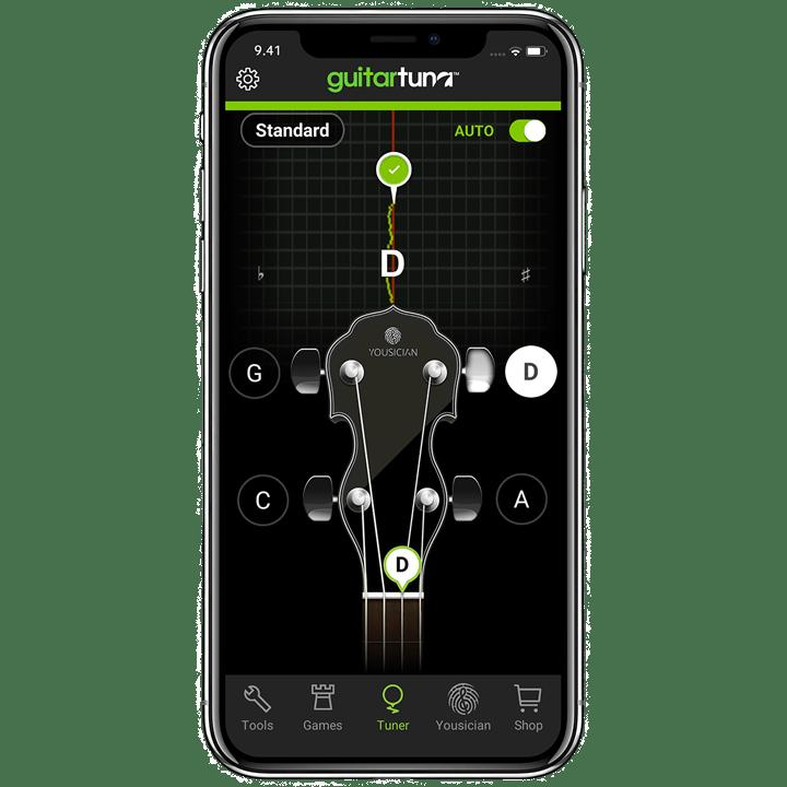 Online Banjo Tuner