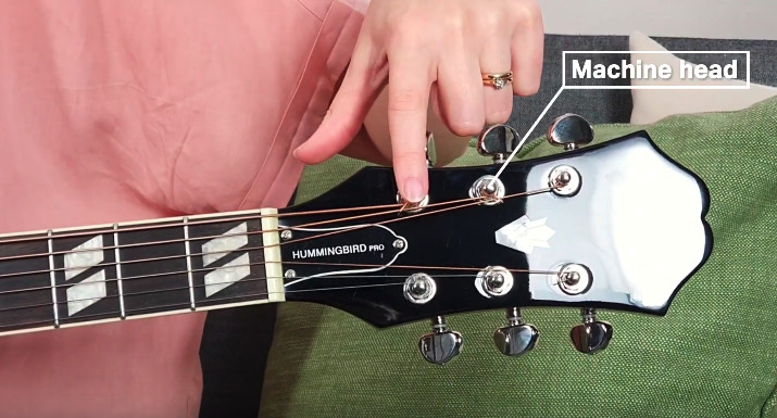 Guitar Machine Head