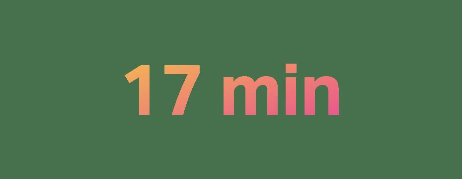 17 min