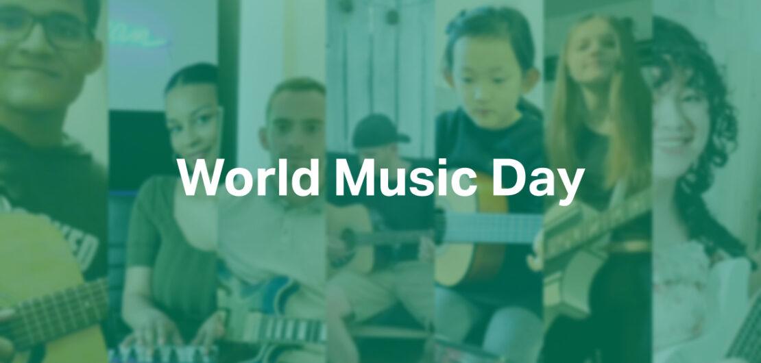 World Music Day Header Image