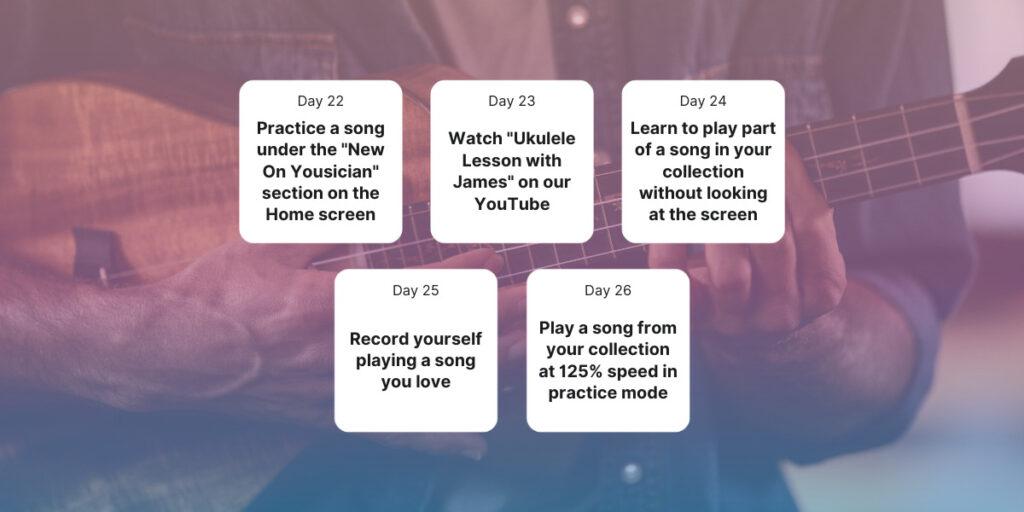 Week 3 30 Day Ukulele Challenge